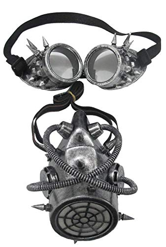 Morris Costumes - Gas Mask And Goggles - Standard ()
