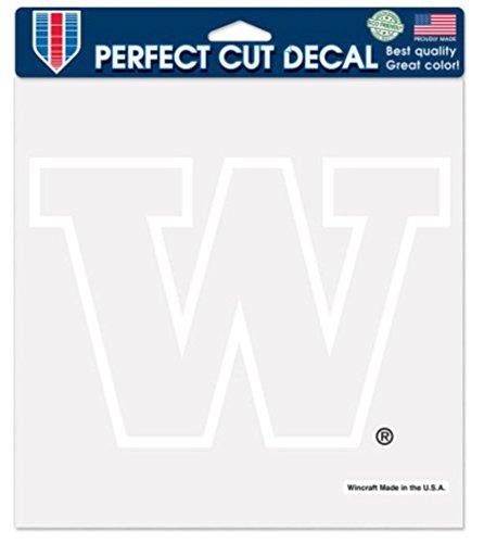 NCAA University of Washington WCR14815115 Perfect Cut Decals, 8