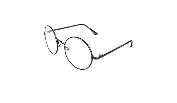 67fee9ee8706 YTCYKJ Korean Version of The Retro Round Metal Glasses Frame (Bronze)   Amazon.ca  Home   Kitchen