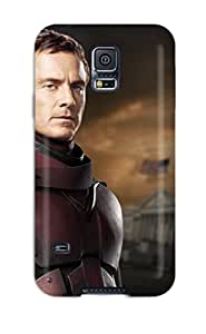 New Style durable Protection Case Cover For Galaxy S5(young Magneto Played By Michael Fassbender)