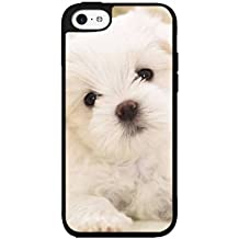 White Shih Tzu 2-Piece Dual Layer Phone Case Back Cover iPhone 4 4s includes BleuReign(TM) Cloth and Warranty Label