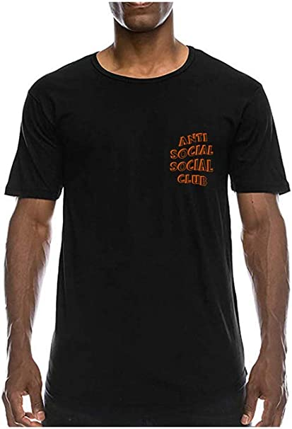 Anti Social Social Club 3D T-Shirt Mujeres: Amazon.es: Ropa y accesorios
