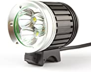 WindFire 3X CREE XM-L T6 3800Lm LED Bicycle Light 4 Modes Super Bright Outdoor Bike Lighting Headlamp with Rec