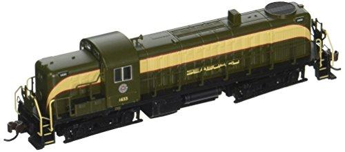 Alco Diesel Locomotives - Bachmann Industries N Scale Seaboard ALCO RS-3 Diesel Locomotive