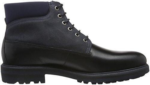 Gant Nobel, Zapatillas de Estar por Casa para Hombre Negro - Schwarz (Black/Marine G05)