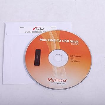 Geniatech MyGica® Receptor USB de dvb-t2 Sintonizador de Televisión TDT para Ordenadores (DVB-T2/T): Amazon.es: Electrónica