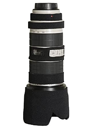 LensCoat LC70200BK Canon 70 200IS f/2.8 Lens Cover  Black  Cameras   Photography