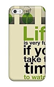 Top Quality Protection Funny Life Quotes Case Cover For Iphone 5/5s wangjiang maoyi