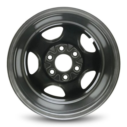IWS Series 05128 16''x6.5'' 6x139.7 – 28mm Chevy Astro (03-05) Express (03-08) Silverado (99-05) GMC Safari (03-05) Savana (03-08) Sierra (99-05) 16x6.5 Inch 6 Lug Silver Replacement Steel Wheel Rim