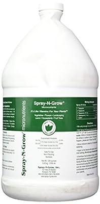 Spray-N-Grow CSNG Micronutrients Complex, 1 gallon