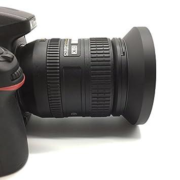 SIOTI Standard Ventil/é M/étal Parasoleil avec Chiffon de Nettoyage et Capuchon dobjectif Compatible avec Leica//Fuji//Nikon//Canon//Samsung lentille /à Filetage Standard