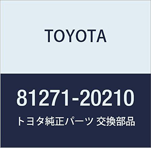 Toyota 81271-20210 License Plate Lamp Lens