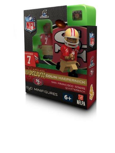 NFL San Francisco 49Ers Colin Kaepernick  NFC Champs OYO Figure (San Francisco 49ers Limited Edition Football)