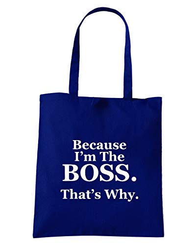Navy BECAUSE Borsa Speed BOSS Blu THE 3 WHY THATS IM OLDENG00308 Shirt Shopper qF5YwAI