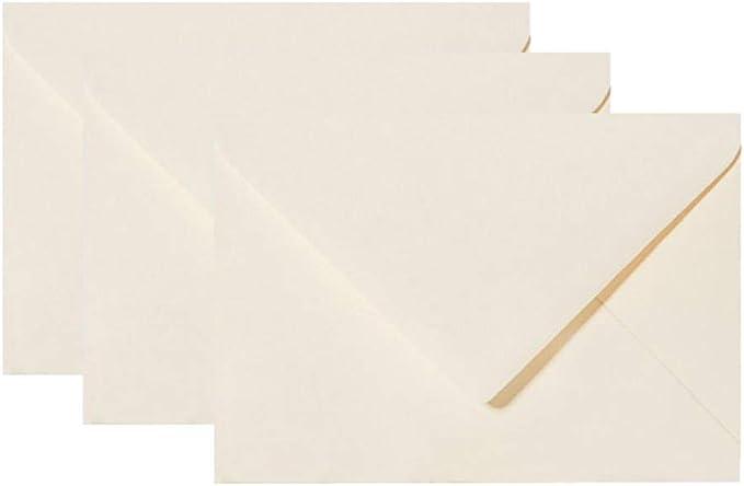 Gru/ßkarten DIN C5 Kuverts 22,0 x 15,4 cm Serie FarbenFroh/® Brief-Umschl/äge in Hochwei/ß Nassklebung ohne Fenster Weihnachten 25 St/ück