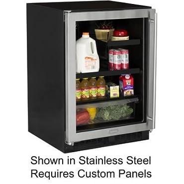 Marvel ML24BRF3LP Beverage Refrigerator with MaxStore Crisper, 24, Black