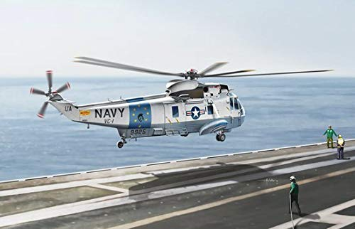 Cyber Hobby Models SH-3D Sea King Helicopter, Scale 1/72 (Sikorsky Sh 3 Sea King Navy Helicopters)
