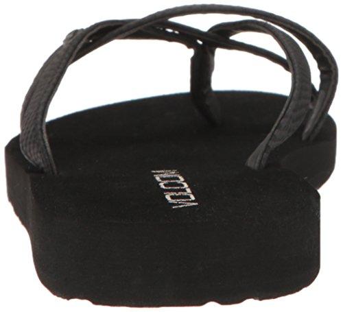 Flop Lookout Black Sandal Flip Volcom Active Combo Women's xcwF1Bq1Pv