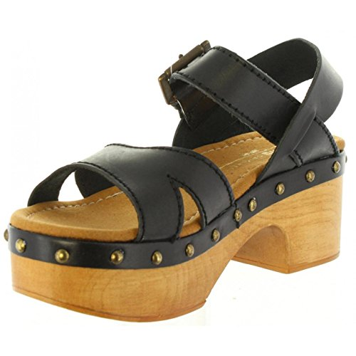 Negro Sandalias Mtng C1578 De 97547 Lany Mujer qqwYOax