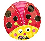 18 Inch Cute Lil Ladybug Party Metallic Balloon – Each, Health Care Stuffs