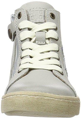 Bisgaard Unisex-Kinder Schnürschuhe High-Top Grau (400-1 Light grey)