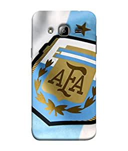 ColorKing Football Argentina 09 Multi Color shell case cover for Samsung On7
