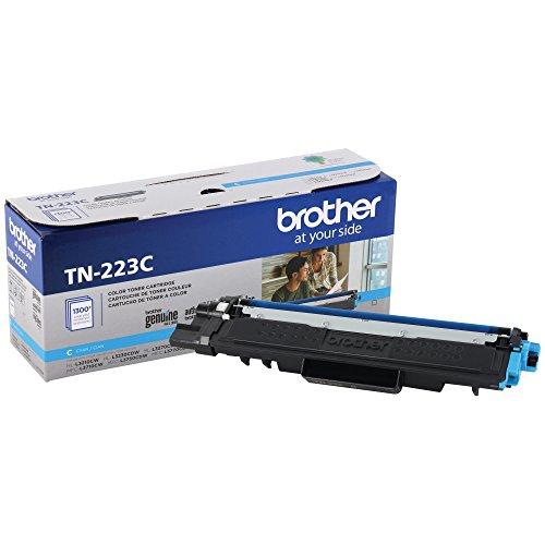 Brother Genuine TN223C Standard Yield Cyan Toner Cartridge, TN223 by Brother