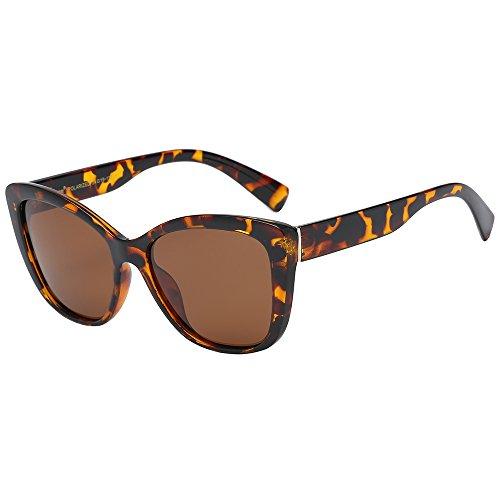 Polarspex Polarized Women's Vintage Square Jackie O Cat Eye Fashion Sunglasses by PolarSpex (Image #2)