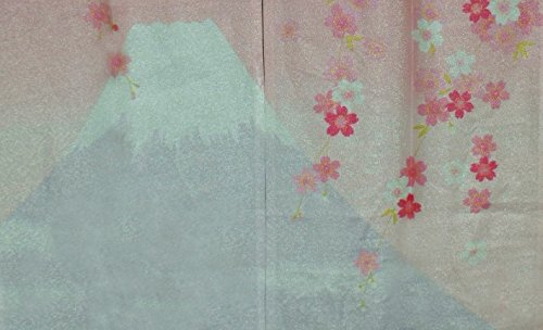 LifEast Chinese Impression Old Countryside Style Door and Window Treatment Curtains (Pink-2)