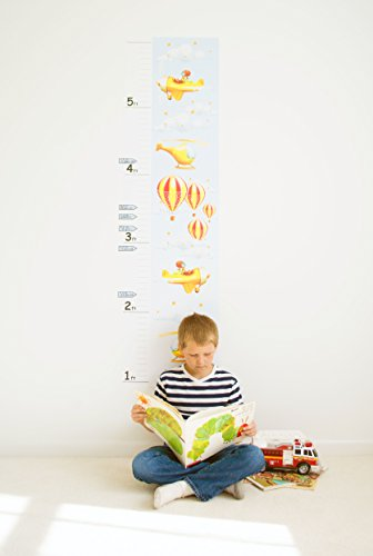 oversized ruler growth chart - 9