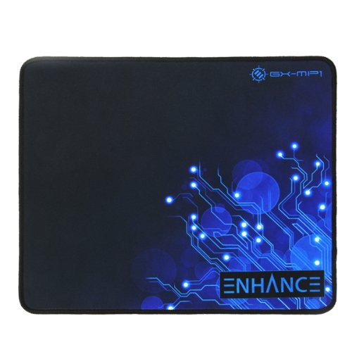 ENHANCE Large Gaming Mouse Pad XL - Big Mouse Mat, Anti-Fray Stitching, Non-Slip Rubber Base, High Precision Tracking for Fortnite, League of Legends & More - Voltaic Series (Blue)