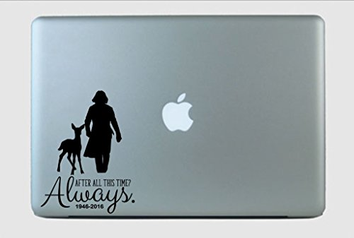 SimplyVinylized in Memory of Alan Rickman Always Doe Vinyl Decal Sticker Opal
