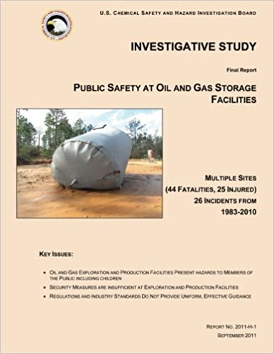 Investigative Study: Public Safety at Oil and Gas Storage Facilities