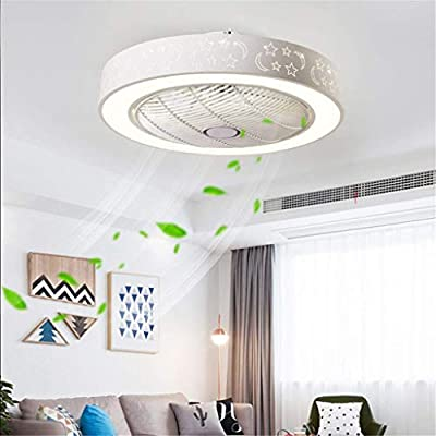 YUPIN Ventilador de Techo Lámpara de Techo con iluminación LED ...