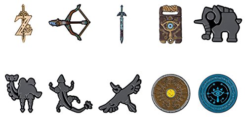 (PowerA Zelda: Breath of the Wild Collector Pins - One Randomly Selected Pin)