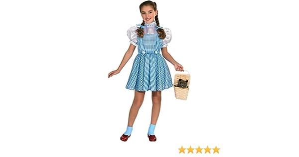 Rubies - Disfraz infantil de Dorothy del Mago de Oz: Amazon.es: Juguetes y juegos