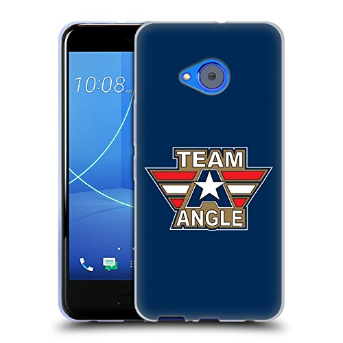 Kurt Angle Life - Official WWE Logotype Kurt Angle Soft Gel Case for HTC U11 Life