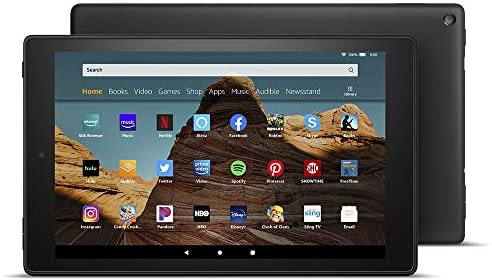 "Fire HD 10 Tablet (10.1"" 1080p full HD display, 32 GB) – Black – Without Ads 2"