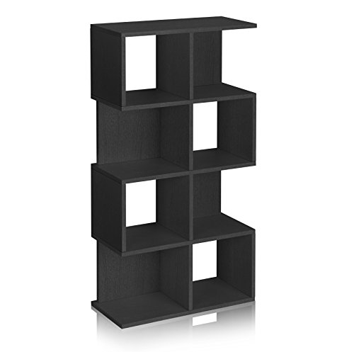 4 Shelf Contemporary Bookcase - 2