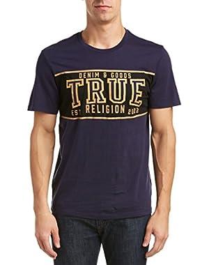 Mens T-Shirt, S, Blue