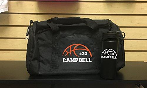 Basketball, Basketball team, Gym Bag, Basketball coach, Basketball bag, Birthday gift, Swim, Ballet Bag, Personalized Work Out Bag,