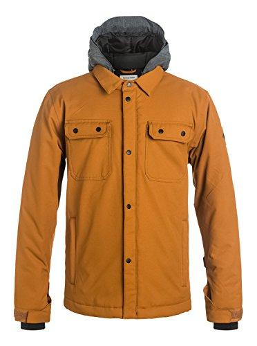 Quiksilver Boys Amplify Youth Jacket Coach Snow Jacket Orange 14