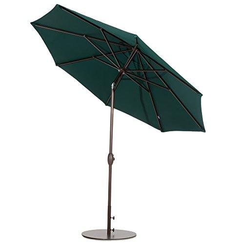 Umbrella Stand Homebase: Patio Round Steel 28 Inch Diameter Market Patio Yard