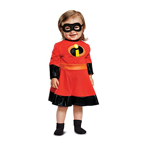 Disguise Baby Girls Violet Infant Costume, Red, (The Incredibles Halloween Costumes Infant)