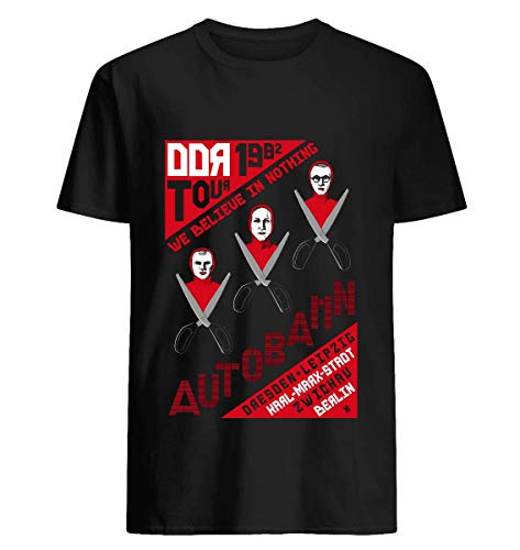 Autobahn 1982 East German Tour T-Shirt 18 T shirt Hoodie for Men Women Unisex (Autobahn Apparel)