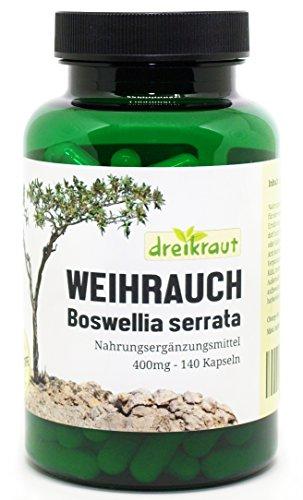 Weihrauch Kapseln Boswellia Serrata - 140 Stück