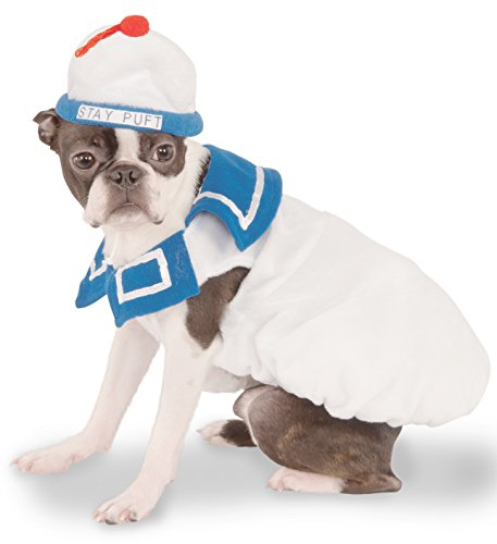 Ghostbusters Movie Pet Costume, Medium, Stay-Puft Marshmallow Man