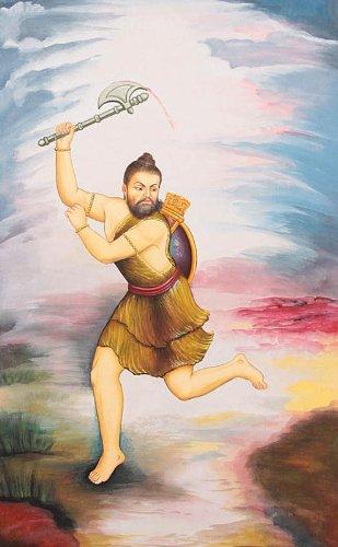 Parashurama, Incarnation of Vishnu and Annihilator