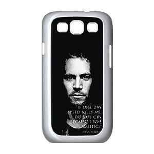 Paul Walker K8K4Qg Funda Samsung Galaxy S3 9300 funda del teléfono celular de la caja del teléfono celular blanco H4W8YB funda protectora 3D
