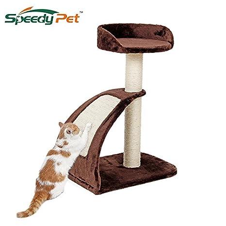 TYRO Entrega domÃstica h182cm Juguetes para Gatos Gato de la casa Mascota áRbol Muebles para el hogar rascarse áRbol de Madera Gato Saltando Escalada ...